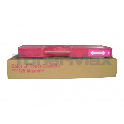 RICOH AFICIO CL-3000 TYPE 125 TONER CASSETTE MAGENTA